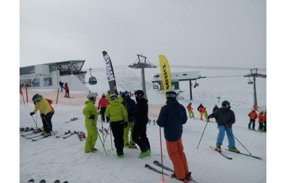 Линейку лыж для катального фрирайда